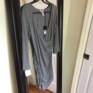 Medium low cut dress